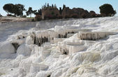 View of Pamukkale. — Stock Photo