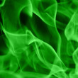 Green flame — Stock Photo