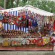 Russian traditional souvenirs — Stock Photo