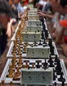 Competencia de ajedrez — Foto de Stock