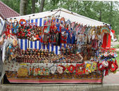 Souvenirs traditionnels russes — Photo