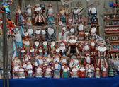 Russian christmas souvenirs — Stock Photo
