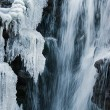 Frozen waterfall — Stock Photo #1239399