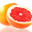 Grapefruit halves - Stock Photo