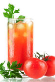 Blood mary alcohol cocktail — Stock Photo