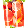 Cocktail collection: Refreshing sangria — Stock Photo #1389776