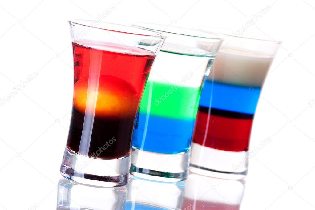 Shot cocktail collection stock photo evgeny karandaev 1389733