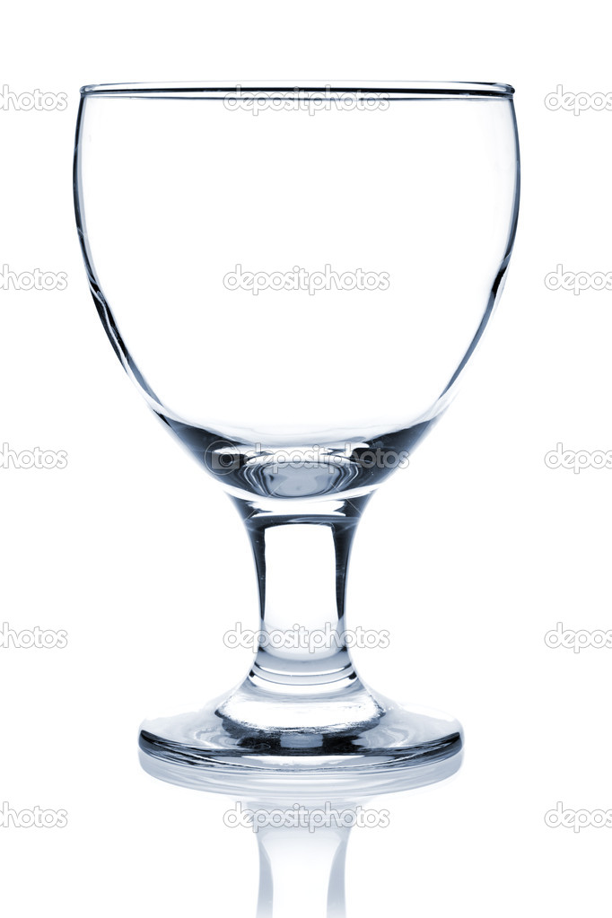 Cocktail Glass Collection - Cream Glass. Isolated on white background — Stock Photo #1532059