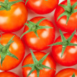 Fresh Cherry Tomatoes background — Stock Photo #1570714