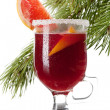 Royalty-Free Stock Photo: Grapefruit Mulled Wine (Punch)