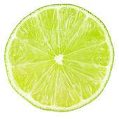 Macro food collection - Lime slice — Stock Photo