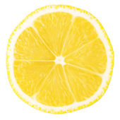 Macro food collection - Lemon slice — Stock Photo