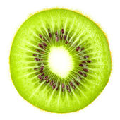 Macro food collection - Kiwi slice — Stock Photo