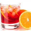 alkohol cocktail-Sammlung - negroni — Stockfoto