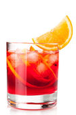 Alcohol cocktail collection - Negroni wi — Stock Photo