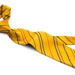 Yellow tie — Stock Photo #1221793