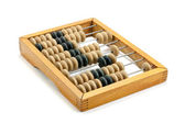 Old wooden abacus — Stock Photo