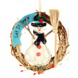 Christmas Snowmans doll — Foto de stock #1235912
