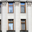 Stock Photo: Historical building windows
