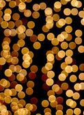 Gold circles again black — Stock Photo