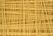 Uncooked italian spaghetti — Stock Photo