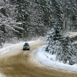 Heavy snow on the road — Stock Photo #1248294