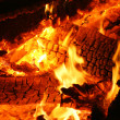 Royalty-Free Stock Photo: Burning hot embers