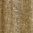 Stock Photo: Rough burlap curtain background