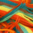 Multicolored Scarf — Stock Photo