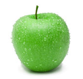 Ripe green apple — Stock Photo