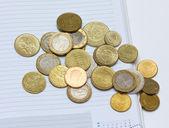 монеты — Стоковое фото