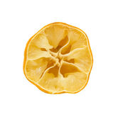Squeezed lemon — Stock Photo