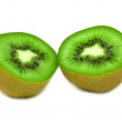 Stock Photo: Ripe cut kiwi