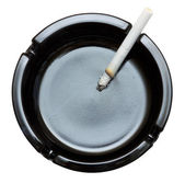 Cigarette in ashtray — Foto Stock