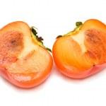 Cut persimmon — Stock Photo