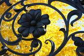 Mikhailovsky garden fence — Stock Photo