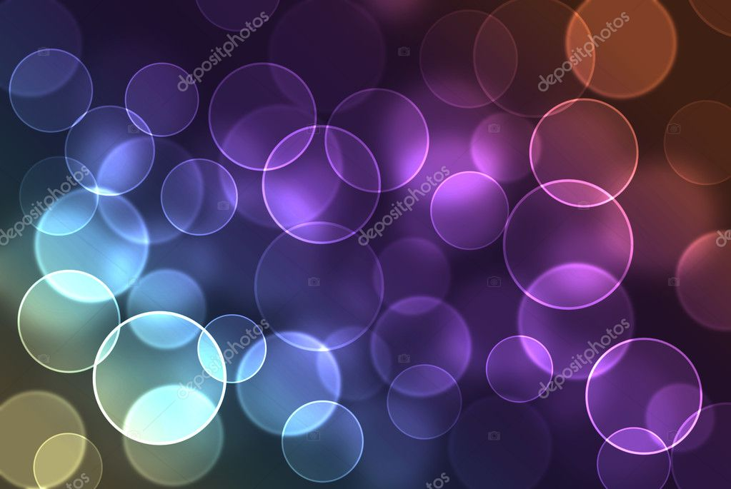 Blurry pattern of colorful decoration lights — Stock Photo #1264306