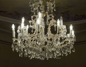 Antique chandelier — Stock Photo