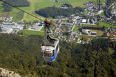 Cable car to Untersberg mount — Stock Photo