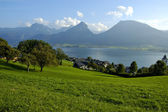 St Wolfgang lake in Austria — Stock Photo