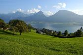 St Wolfgang lake in Austria — Stock Photo