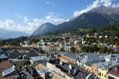 Innsbruck rooftops — Stock Photo