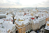 Winter Prague — Stock Photo