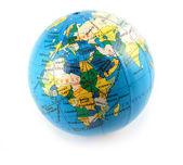Pequeno globo terrestre — Fotografia Stock