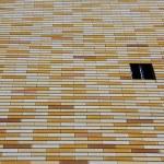 Brick wall with window — Stock Photo #1227680