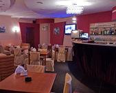 Unmanned restaurant interior — Stock Photo