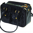 Black dog bag — Foto de Stock