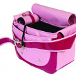 Pink dog bag - Stock Photo