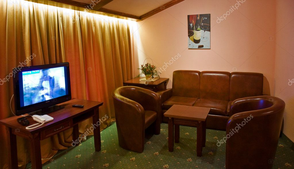 Hotel room interior — Stock Photo #1526678