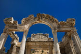 Hadrian temple in Ephesus — 图库照片